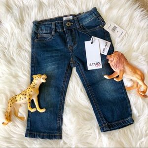 Hudson baby jeans 👖 12 months NWT